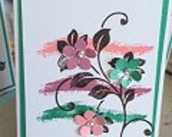 Flower Vine Card