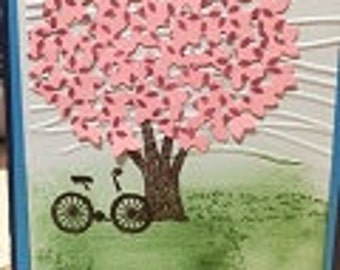 Breezy Tree Greeting Card