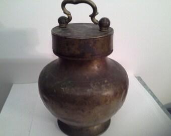 Sri Lanka brass urn