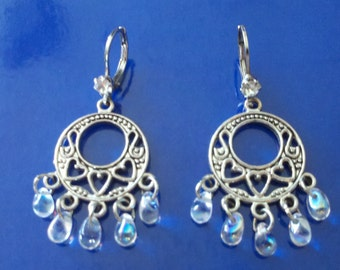 Earrings Teardrop Swarovski #12473