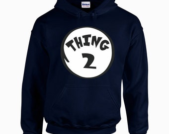 Thing Number Two, Thing 2, Unisex Fashion Hoodie
