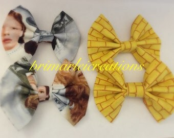 Wizards of oz hair bows