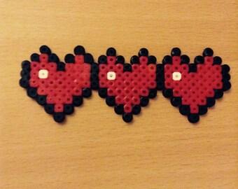 Gaming Health Hearts Hama Art
