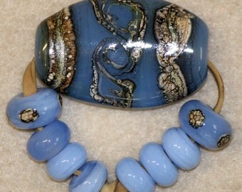 Pale Blue Focal and Spacers Set