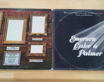 Emerson, Lake & Palmer - Welcome Back My Friends / Pictures at an Exhibition - MC3-200 / ELP 66666  - 1974 / 1971 (1972 early US pressing)