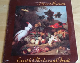Procol Harum - Exotic Birds and Fruit - CHR 1058 - 1974 Early Pressing - VG