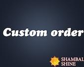 Custom bracelet for Candace Regan