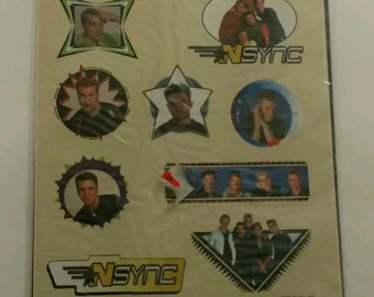 NOS New NSYNC stickers