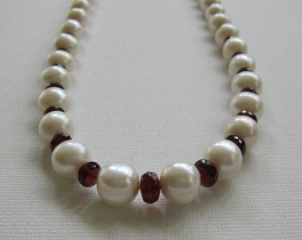 Pearls and Garnets