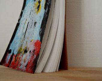 Hand Painted Blank Sketchbook, Art Journal