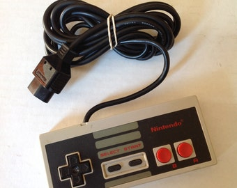 Original Nintendo Controller Vintage Nintendo controllers