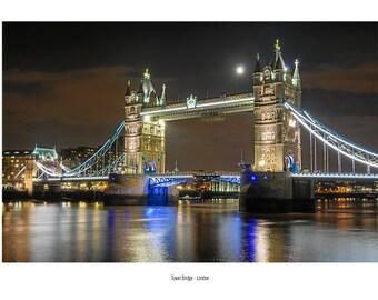 Postcard_034 - London Tower bridge