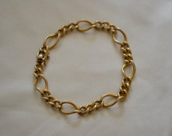 Gold Filled Link Chain Bracelet