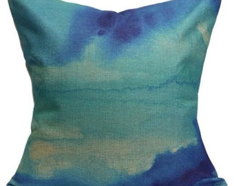 Watercolour Print Cushion Cover