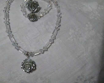 rose jewellery set