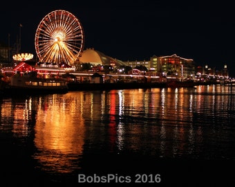 An evening at Navy Pier