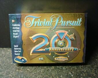 Trivial Pursuit Board Game - 20th Anniversary Edition - 1982-2002 - Hasbro