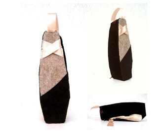 Dance bag, ballet bag, Hand Sewn, Pointe shoe bag, ballerina bag, ballet shoes, pointe shoes, Ballerina gift