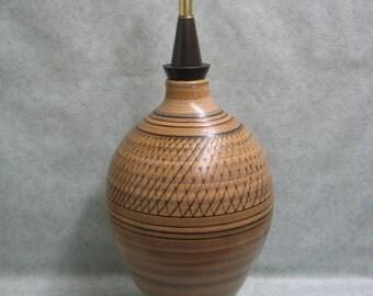 Beautiful Large Vintage Mid Century Ceramic Table Lamp