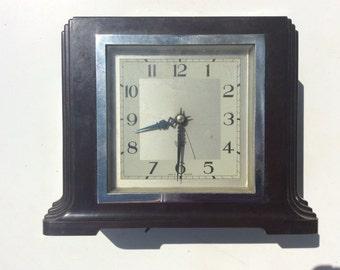 Vintage Bakelite clock Smiths Sectric 1930s