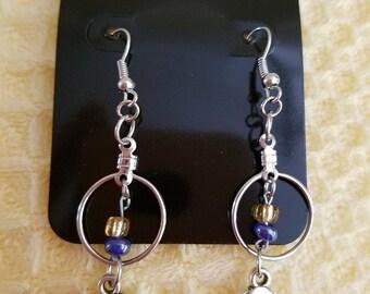 Down Syndrome awareness earrings