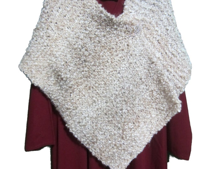 Knitted Shawl/Wrap