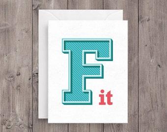 F It Card