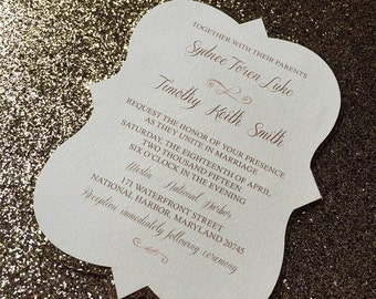 Glitz and Glam Suite | Invitation & RSVP
