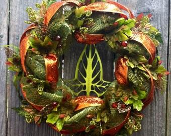 Leaves of Lorien wreath