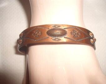 Vintage Bracelet Solid Copper