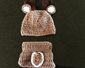 OH deer! Baby deer set crocheted