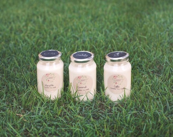 Coffee | Scented Soy Wax Jar Candle