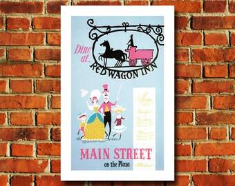 Disney Main Street Poster - #0544