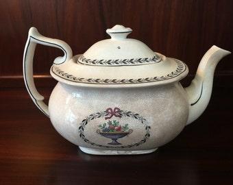 SALE 25% OFF! Antique Victorian Art Nouveau Spode Copeland Chaplet Teapot