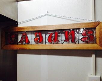 CAJUN panel in custom made frame