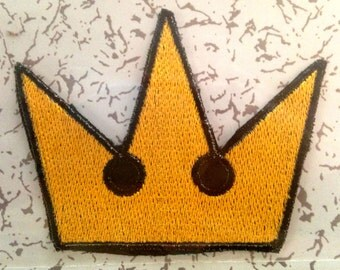Kingdom Hearts Crown Patch