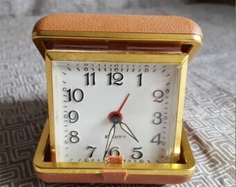 Vintage Traveling Alarm Clock