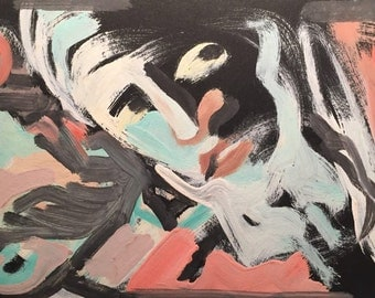 1960: Abstract Men in the Night