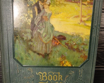 vintage book Book Trails Vol 6 at the Crossroads 1928