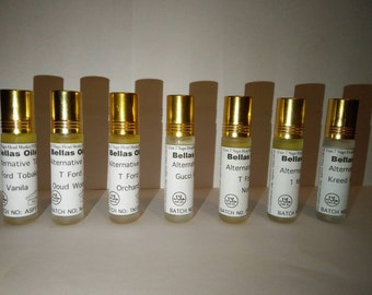 Exclusive perfume oil roll on bottles 10ml