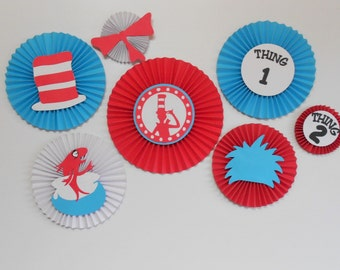 Dr Seuss inspired Rosette Package