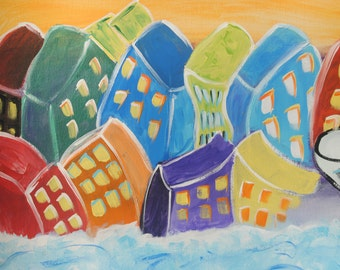 Sinking Buildings