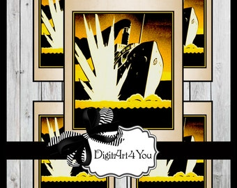 Digital collage/Ships/USA/Soldier/Propaganda/Bomb/War/ship/Clip Art/Digital Download/Vintage Art/Supplies/Inchies/Dominoes/Retro/Collage