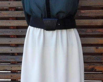 Skirt with size etastiquee