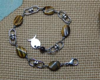 bracelet for man Tiger eye