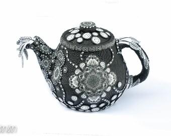 Ceramic Teapot Etsy