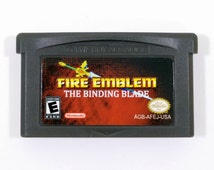 Fire Emblem: The Binding Blade English Fan Translation for Nintendo Game Boy Advance GBA RPG Cartridge Sword of Seals - Hard Mode Unlocked!