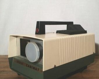 Vintage Slide Projector / 35mm Slide Projector / Antique Slide Projector / Cabin Automat Slide Projector - Cabin Projector / Old Projector