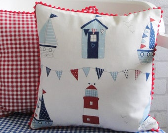 Nautical Cushion Knitting Pattern : Nautical cushions Etsy
