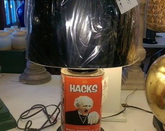 Hacks Coughdrops Tin Lamp